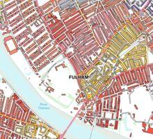 Multiple Deprivation Palace Riverside ward, Hammersmith & Fulham Sticker