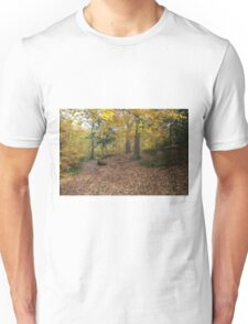 Autumn Colours in the sunshine before the storm Angus predicted tomorrow  Unisex T-Shirt