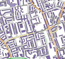 Multiple Deprivation Peckham ward, Southwark Sticker