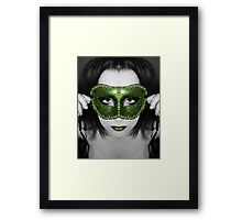 A mask I've worn but the truth will be told Framed Print