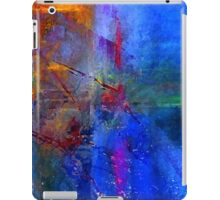 Intersection of Colors Throw Pillow iPad Case/Skin