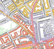 Multiple Deprivation Pembridge ward, Kensington & Chelsea Sticker