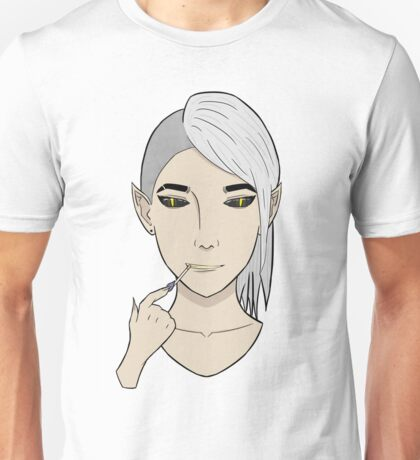 Zed Digital Artwork Unisex T-Shirt