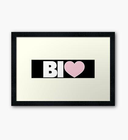 BI Framed Print
