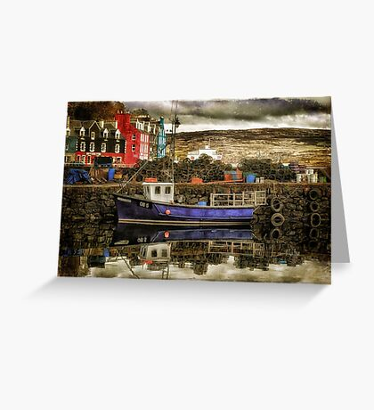 Tobermory Isle Of Mull Greeting Card