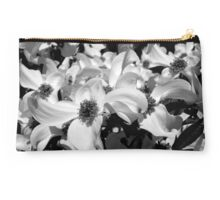 Black & White Dogwood Studio Pouch