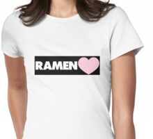 RAMEN Womens Fitted T-Shirt