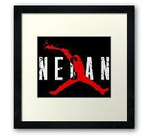 negan - Lucille Framed Print