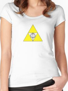 Nerdy Hallows Women's Fitted Scoop T-Shirt