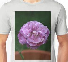 Raindrops on Rose petals Unisex T-Shirt