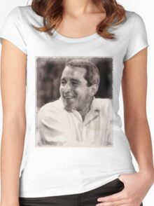 Perry Como, Singer Women's Fitted Scoop T-Shirt
