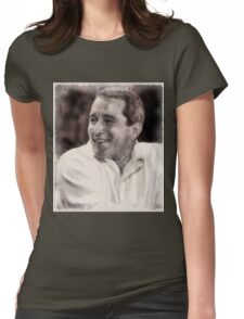 Perry Como, Singer Womens Fitted T-Shirt