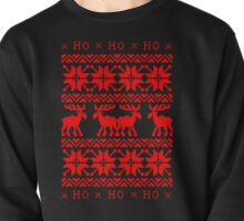UGLY CHRISTMAS SWEATER KNITTED PATTERN Pullover