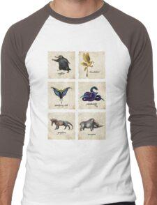 Awesome Creaturess Men's Baseball ¾ T-Shirt