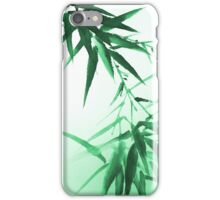 Green Bamboo Twig iPhone Case/Skin