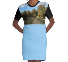 Path to Peace Graphic T-Shirt Dress