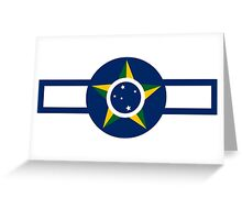 World War II Roundel of Brazilian Air Force  Greeting Card
