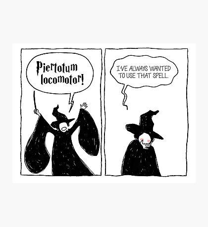 Piertotum Locomotor Photographic Print