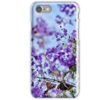 Jacaranda with Pods iPhone Case/Skin
