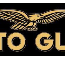 Moto Guzzi retro vintage logo Sticker