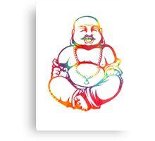 Tie-Dye Buddha Metal Print
