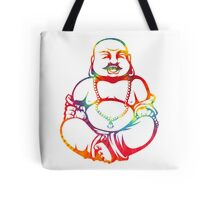Tie-Dye Buddha Tote Bag