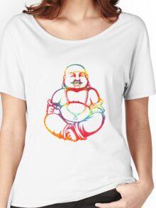 Tie-Dye Buddha Women's Relaxed Fit T-Shirt