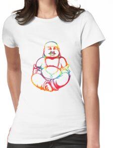 Tie-Dye Buddha Womens Fitted T-Shirt