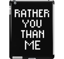 Rick Ross Rather You Than Me iPad Case/Skin