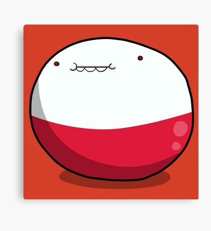 Little Ball of Electrodes Canvas Print