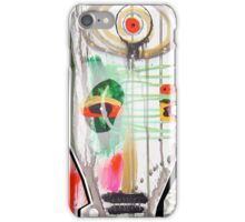 tribal clown iPhone Case/Skin