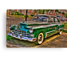 1948 Cadillac-side view full Canvas Print