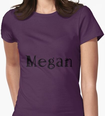 Megan Womens Fitted T-Shirt