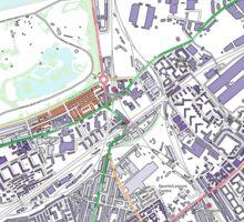 Multiple Deprivation Queenstown ward, Wandsworth Sticker