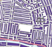 Multiple Deprivation Queen's Park ward, Westminster Sticker