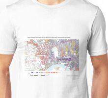 Multiple Deprivation Ravenscourt Park ward, Hammersmith & Fulham Unisex T-Shirt