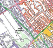 Multiple Deprivation Redcliffe ward, Kensington & Chelsea Sticker