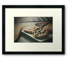 Baked Cookies Framed Print