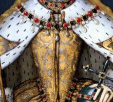 Queen Elizabeth I of England in Her Coronation Robe Sticker