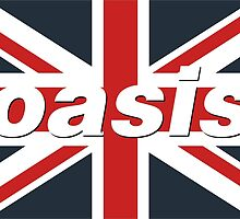 Oasis - Union Flag by HJC15