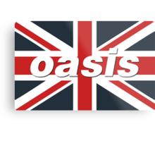 Oasis - Union Flag Metal Print