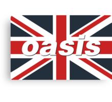Oasis - Union Flag Canvas Print