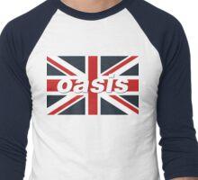 Oasis - Union Flag Men's Baseball ¾ T-Shirt