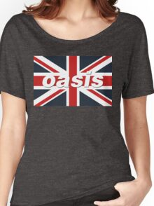 Oasis - Union Flag Women's Relaxed Fit T-Shirt
