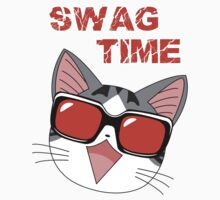 Swag Cat Kids Clothes