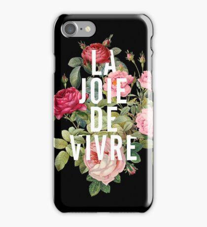 FLOWERS LA JOIE DE VIVRE iPhone Case/Skin
