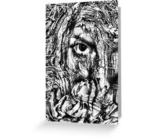 cover my face Greeting Card