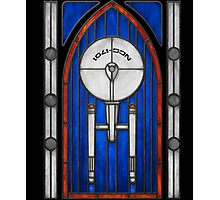 Stained Glass Series - Enterprise Photographic Print