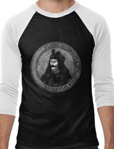 Vlad Dracula Tepes The Impaler Vampire Men's Baseball ¾ T-Shirt