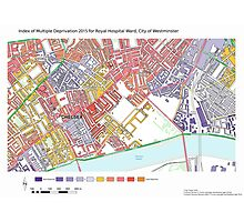Multiple Deprivation Royal Hospital ward, Westminster Photographic Print
